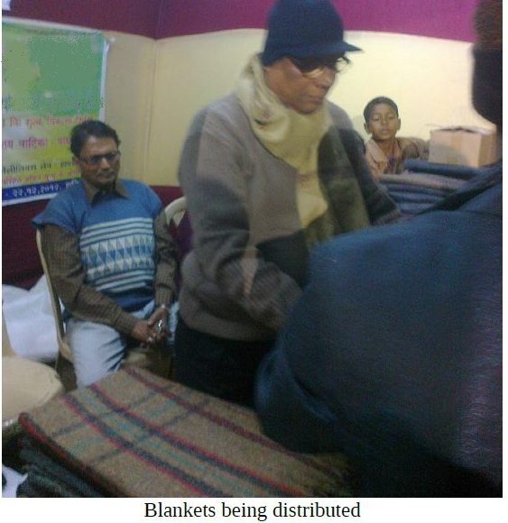 Health Checkup and Blanket Distribution in Kolkata