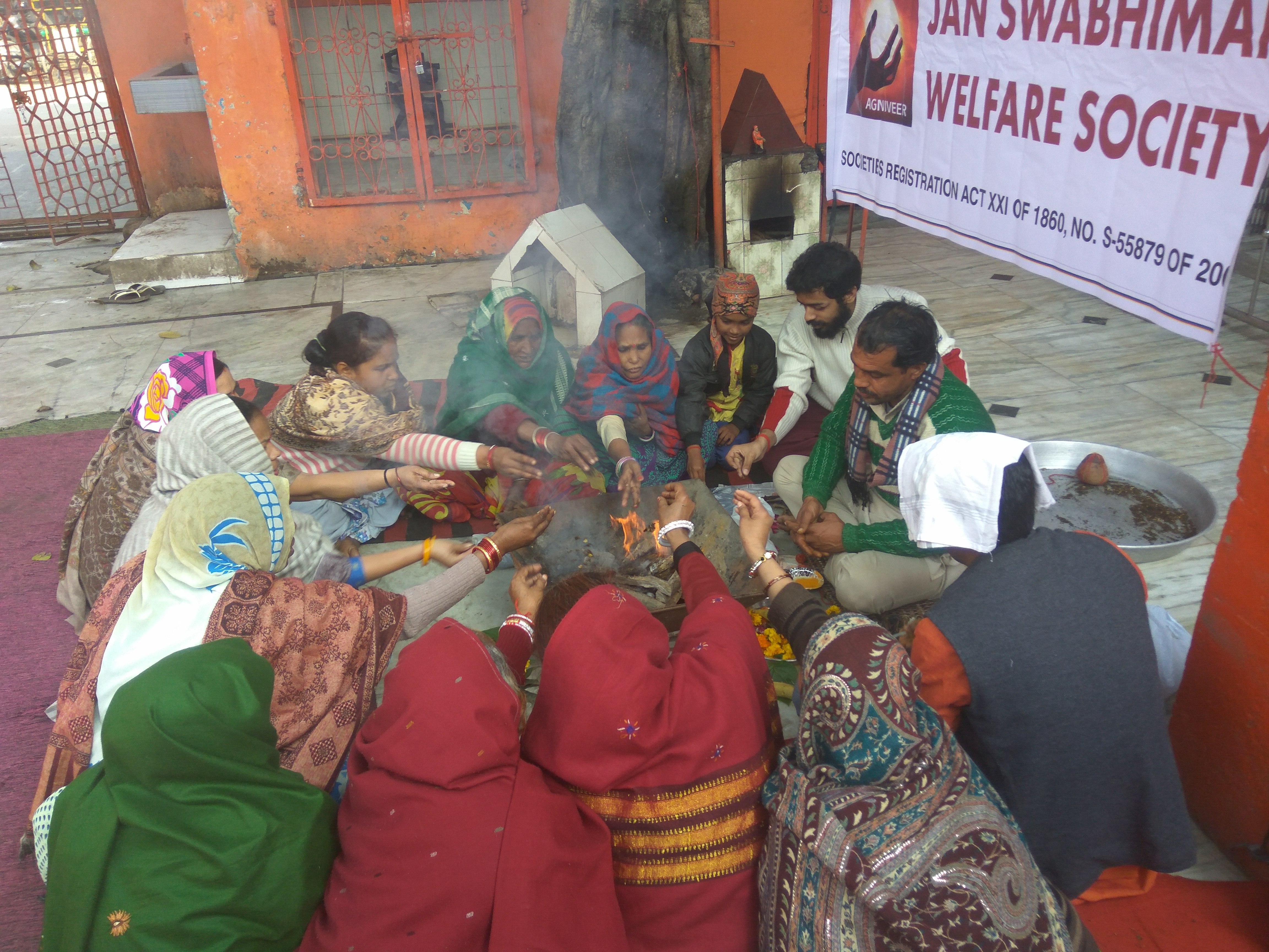 Social equality Yajnas and awareness programs